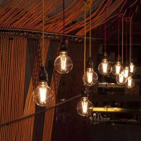 QUALEDY® LED E27-G125-Filament lamp - 7W - 2700K - 700Lm - Amber