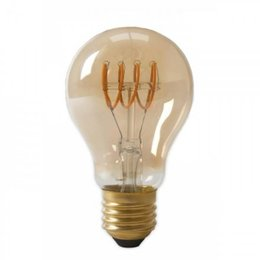 QUALEDY® LED E27-A60-Filament lamp Curved - Amber