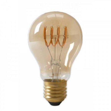 QUALEDY® Filament lamp - 4W - 2700K - 700Lm - Curved - Amber