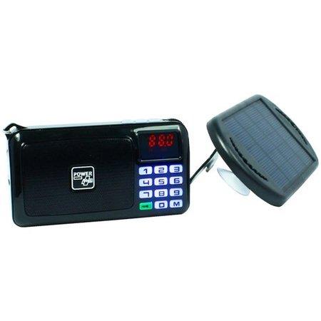 Powerplus Solar Radio en zaklamp - Crow