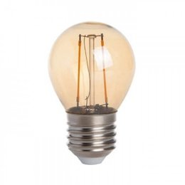 QUALEDY® LED E27-G45-Filament lamp - 2W - 2400K