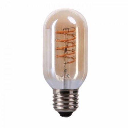 QUALEDY® LED E27-T45-Filament lamp - 4W - 2700K - 700Lm - Curved