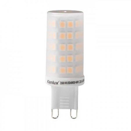 Kanlux LED G9 - 4W - 3000K - 500Lm - 360° (35W halogeen vervanger)