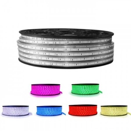 QUALEDY® LED Strip 230V - RGB - 14,4W/m - 60xSMD5050/m - 1m - IP66