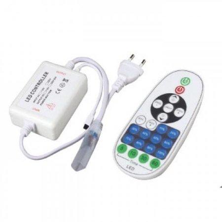 QUALEDY® LED Controller - Strip 230V - Single Color - IR - 23Keys - 4A - 720W