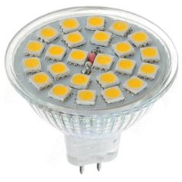 QUALEDY® LED GU5.3 Spot - 3W - 24SMD - 3000K