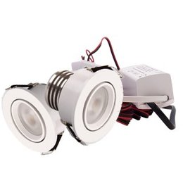 QUALEDY® LED Set van 2 Inbouwspot - 4W - Wit