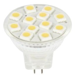 QUALEDY® LED G4/MR11-spot - 12SMD