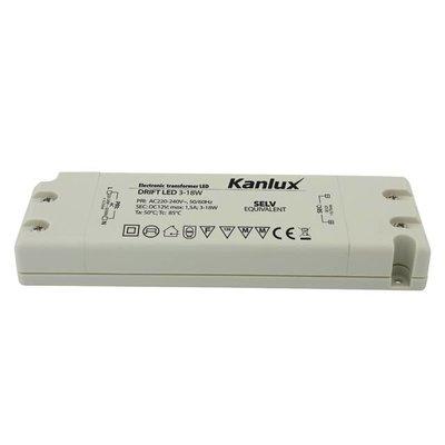 QUALEDY® LED Trafo 3-18W - 12V - 1,5A