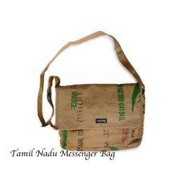 Ragbag Tamil Nadu Messenger Bag 35 x 30 x 8 cm
