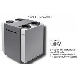 Vasco Ventilatie-unit D300E II wandmodel