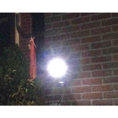 Brennenstuhl LED-zonnecel-lamp voor buitenshuis SOL 14 plus IP44 met infrarood bewegingsmelder 2xLED 0,5W 85lm Kabel lengte 3m Kleur zwart