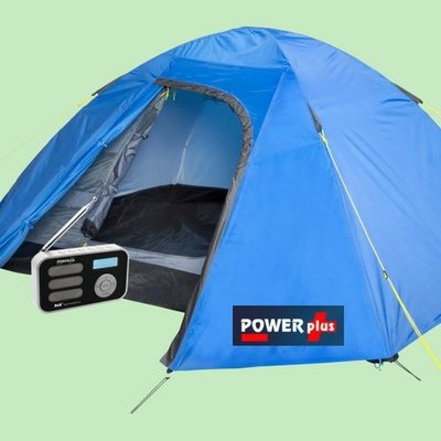 Powerplus Stork | DAB+ radio | Zonnepaneel | USB
