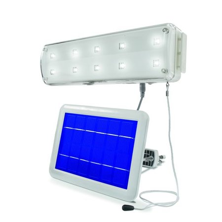 Esotec LED binnenlamp op Zonne-energie (Solar) en met bewegingsmelder (PIR)