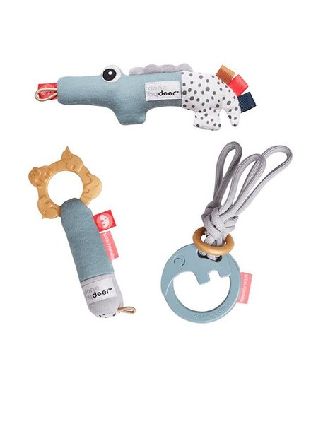 Done By Deer Tiny Toys Gift Set Blue
