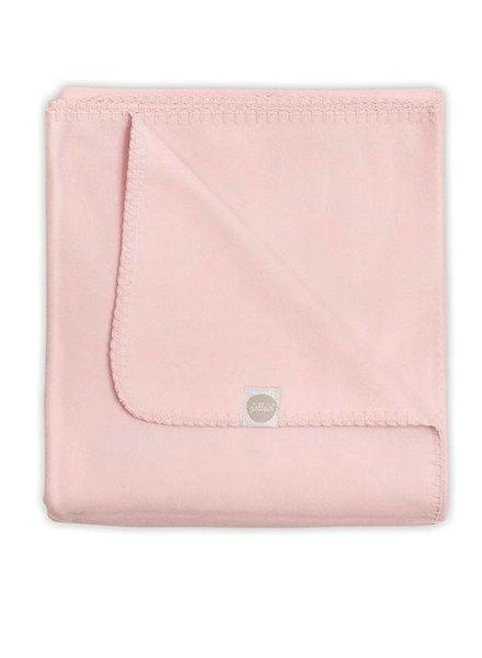Jollein Ledikantdeken Uni Light Pink