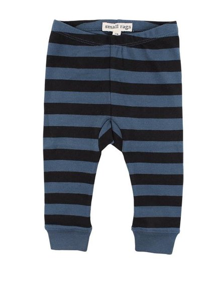 Small Rags Pants Stripes Orion Blue