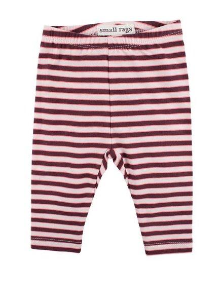 Small Rags Legging Stripes Grape