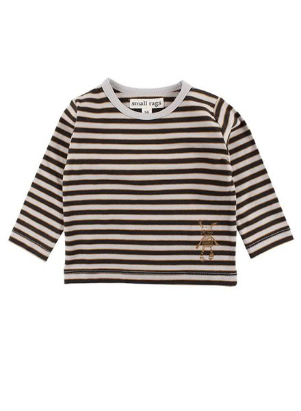 Small Rags Shirt Stripes Dove
