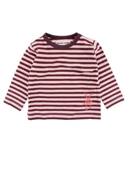 Small Rags Shirt Stripes Grape