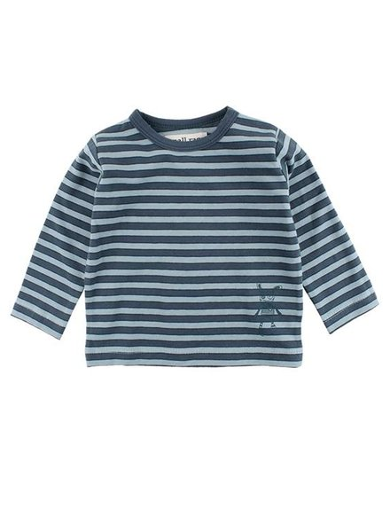 Small Rags Shirt Stripes Orion Blue