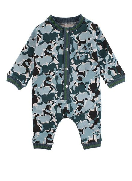Small Rags Playsuit Camo Dove