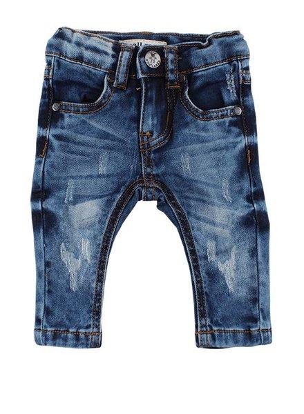 Small Rags Denim Jeans  Blue Scratch