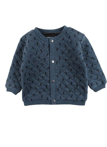 Small Rags Cardigan Little Rags Orion Blue