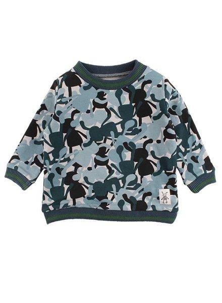 Small Rags Sweater Camo Dove