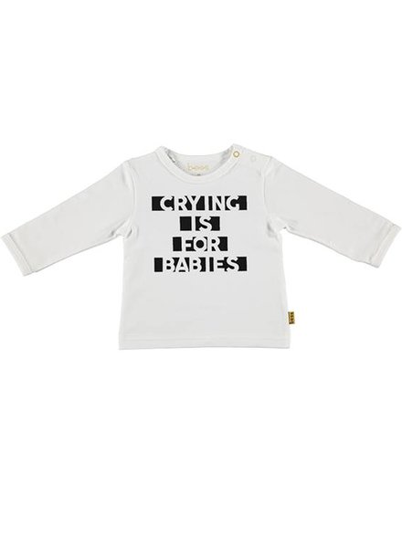 B*E*S*S Shirt Crying is for Babies