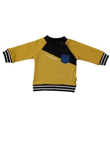 B*E*S*S Sweater Diagonal Ocre