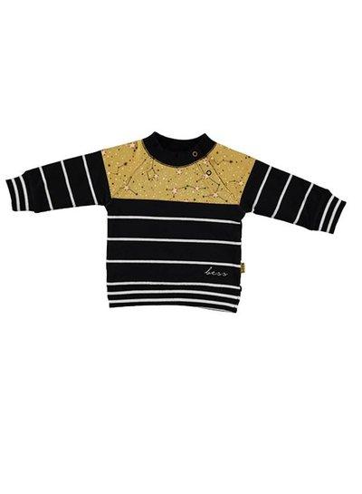 B*E*S*S Sweater Striped Ocre