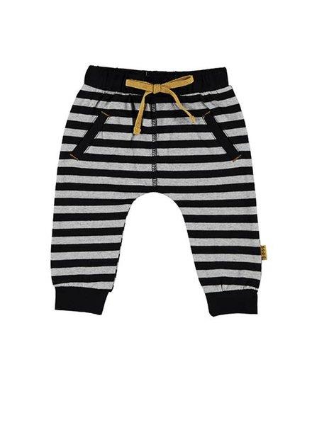 B*E*S*S Pants Striped Grey