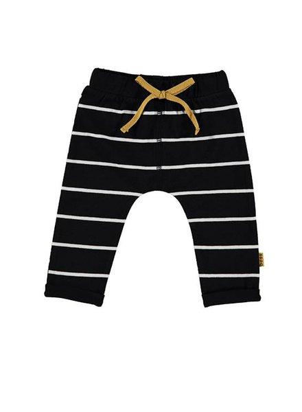 B*E*S*S Pants Striped Black