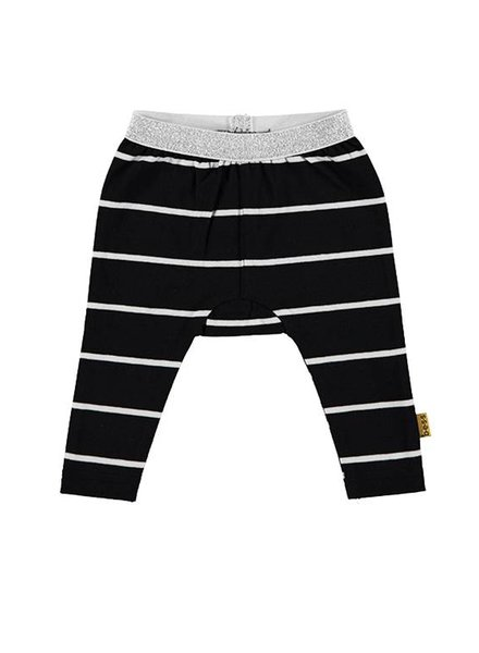 B*E*S*S Legging Striped Black