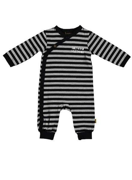B*E*S*S Suit Striped Grey
