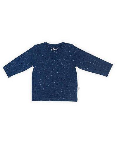 Jollein Shirtje Lange Mouw Speckled Blue