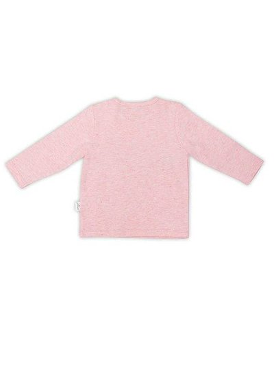 Jollein Shirtje Lange Mouw Speckled Pink
