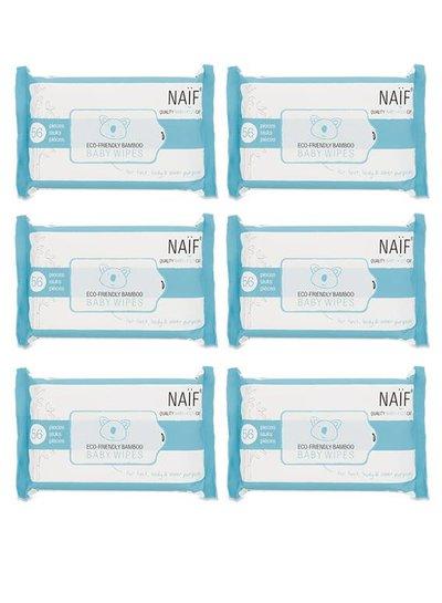 Naïf Baby Wipes Box (6-pack)