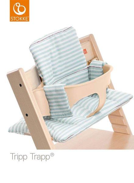 Stokke Tripp Trapp Kussen Aqua Stripes