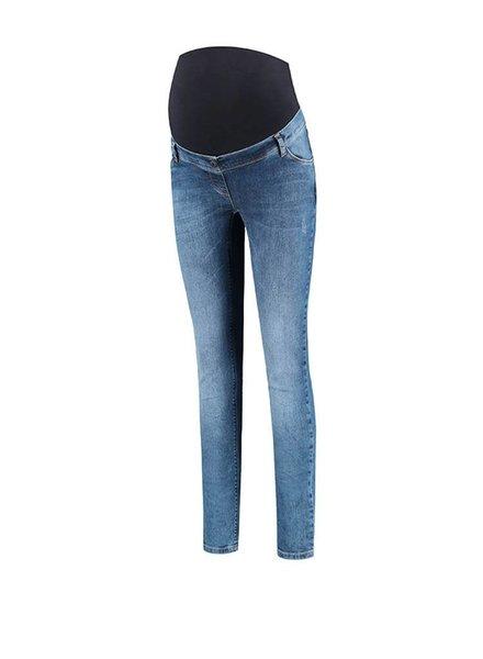"Love2Wait Jeans Sophia Medium Destroyed Stone Wash ""32"