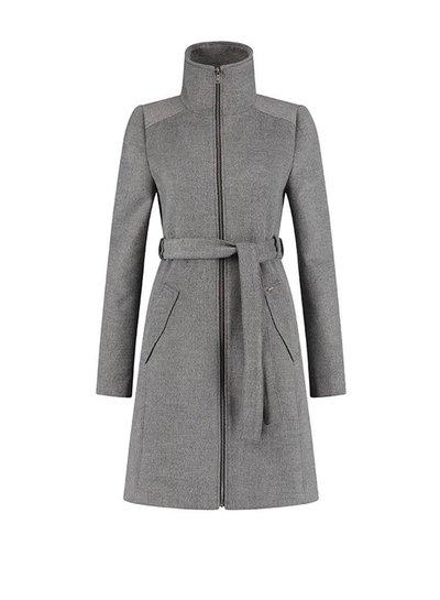 Love2Wait Love2Wait Coat Double Zipper Grey