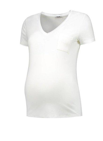 Love2Wait Shirt Pocket Off White