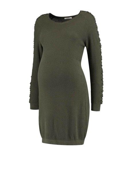 Love2Wait Dress Knit Green