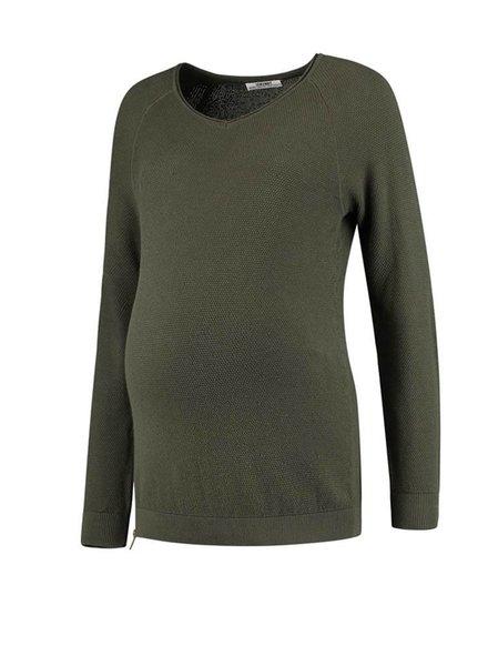 Love2Wait Sweater Knit Green (Nursing)