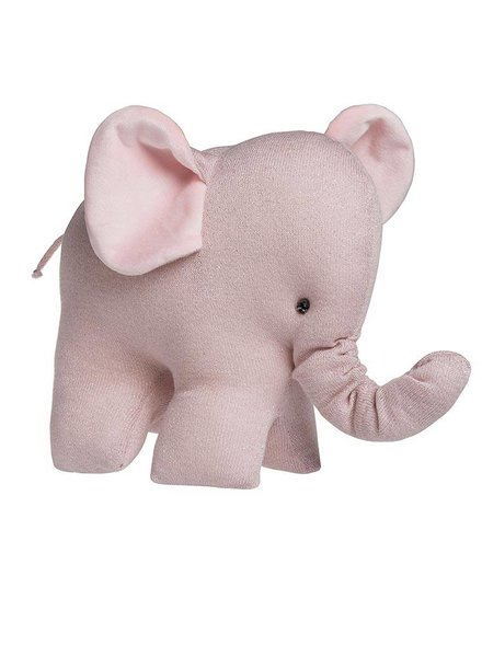 Baby's Only Knuffelolifant Sparkle Roze