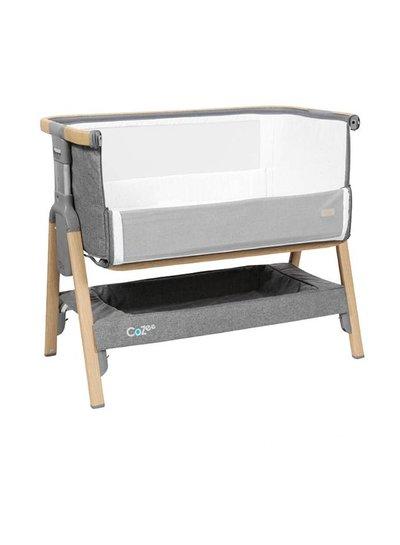 Topmark COZee Bedside Crib Oak Silver