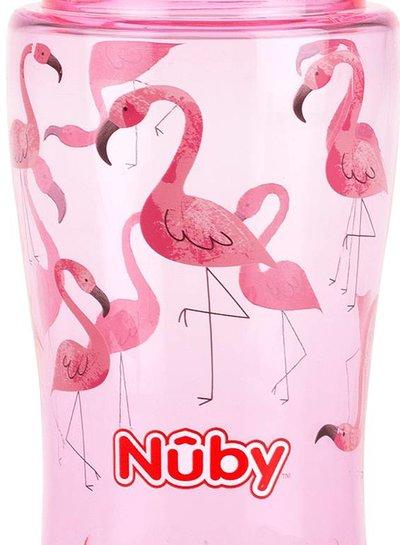 Nûby Nuby Flip-It 355ml Flamingo