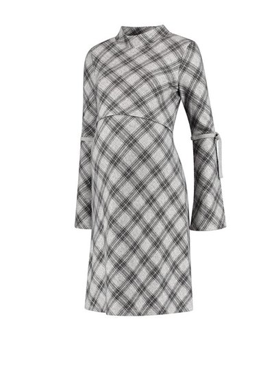 Love2Wait Love2Wait Dress Checkered Grey (Nursing)