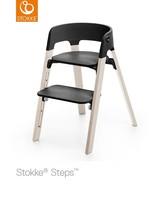 Stokke Steps Stoel White Wash / Black